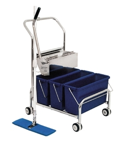 Perfex - Truclean Double Bucket Cleanroom System (Blue)