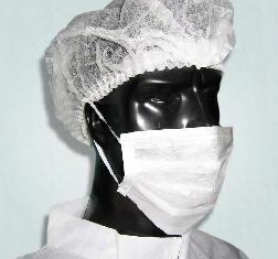 ExClean - Antistatic face veil, a one-time 20 grams (1000