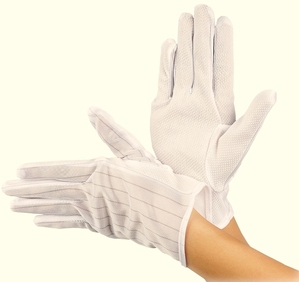 ExClean - Gloves Trikot AS clean room (10 pair) uncoated S