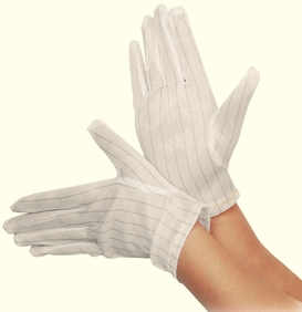 ExClean - Gloves Trikot AS clean room (10 pairs in compani