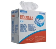Kimberly Clark - Wypall x 70 swabs came running blue (10 * 100)