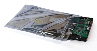 "Exdron - Shielding bag with closing Size: 3 ""X 5"" / 07X12"