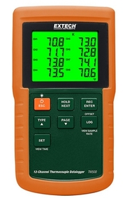 Extech - 12-Channel Datalogging Thermometer