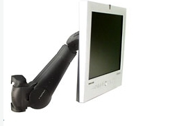 Ergotron - 400 Series Wall Mount LCD Arm (black)