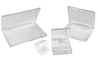 Exdron - Box Clear Antistatic, ID:177.8x88.9x25.4 mm (96)
