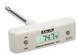 Extech - Corkscrew Stem Thermometer