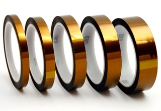 "Exdron - Kapton Double sided, 3"" plastic core, 10m,1"""