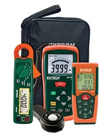 Extech -  Lighting Retrofit Kit with Power Clamp Meter
