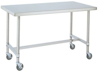 Metro - Metro Heavy Duty Stainless CartTable 152X76X86cm