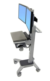 Ergotron - Neo-Flex Dual WideView WorkSpace
