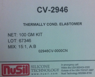 Nusil - Nusil CV-2946 thermally conductive silicone 100g