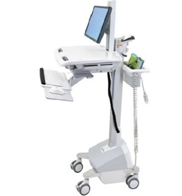 Ergotron - StyleView® Cart with LCD Pivot, LiFePowered EU