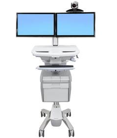 Ergotron - StyleView® Cart with LCD Pivot, 1 Drawer