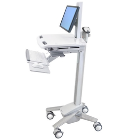 Ergotron - StyleView® Cart with LCD Pivot, SV40