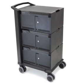 Ergotron - Tablet Management Cart 48, with ISI USA